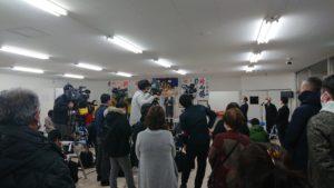 小山田選挙事務所で